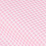 Vichykaro rosa/weiß ca. 3mm