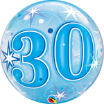 poczta balonowa - niebieska 30-stka