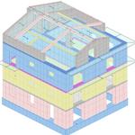 Interventi strutturali per la riduzione della classe del rischio sismico - Agropoli (SA)