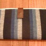 これは小粋な和風柄の長財布です、メンズでも使えます。
