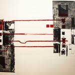 o.T., Lithographie, 2015, 56 x 78 cm; Graphische Arbeit von Micha Hartmann aus Esslingen