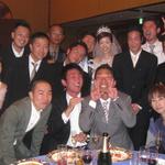 栂池、ニセコ、カナダを共に過ごした仲間たち(友達の結婚式)