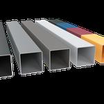 Pulverbeschichtung in verschiedenen Farben