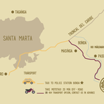Boutique hostel in the area of Minca and Santa Marta