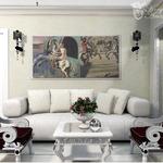 Дизайн интерьера мягкой зоны в стиле Арт деко
