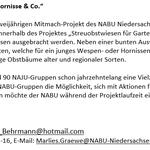 NABU, Gemeinde und Jugendfeuerwehr pflanzen Obstbäume in Heuerßen