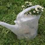 Gießkanne- Tapesculptur