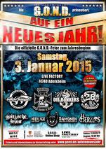 Auf ein Neues Jahr 2015