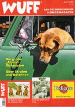 Hundemagazin WUFF, Ausgabe April 2005
