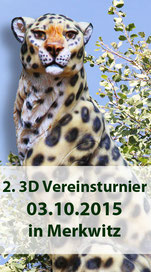 2. 3D Vereinsturnier am 03.10.2015 in Merkwitz