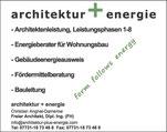 Architektur + Energie