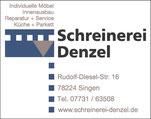 Schreinerei Denzel