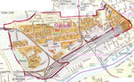 Stadtplan Frankfurt Gallus - Copyright Stadt Frankfurt am Main