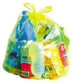 Calendrier des sacs jaunes