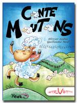 Conte moutons, histoire, sommeil, humour, livre, jeunesse