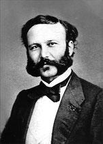 Henri Dunant,  Gründer des Roten Kreuzes