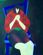 zittende vrouw 1992