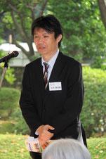 県東京事務所、小川課長挨拶