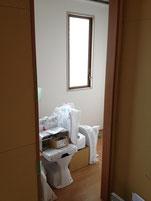 中央部設置の女子トイレ