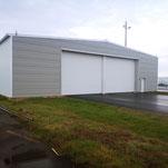 Construction de hangar des moyens généraux - Aéroport Octeville Le Havre (76)