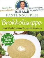 Original Suppenfasten nach Moll mit Brokkolisuppe