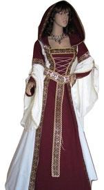 Mittelalterkleid Gefion in Maßanfertigung aus dem Atlier Mittelalter-Fashion