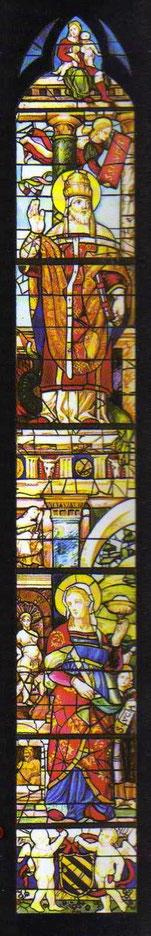 San Silvestro e Santa Lucia, (1516-1517)
