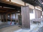 「客殿」の玄関