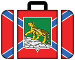 Vladivostok-Flag-suitcase of Primorsky Krai