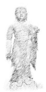 慰称寺地蔵堂地蔵菩薩像