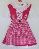 Kinder Trachtenkleid Pink-Pink