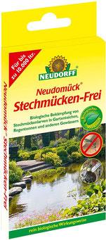 Bei Stechmückenfrei tötet die Larven der Trauermücken ab.