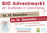 Plakat BIO Adventmarkt