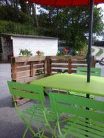 table de dégustation à Baden chez Jean Michel Le Port
