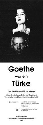 Goethe war ein Türke, Luderhof, 26.9.1994