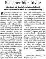Abendzeitung München 4. April 2001