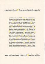 theorie der konkreten poesie • gesamtwerk • band II