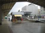Hoffentlich ein Provisorium! Dieser Ausgang am historischen Bahnhof Sirkeci beleidigt das ehrwürdige Ambiente!