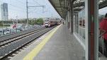 Im Sommer 2014 ist Kazlicesme, am Ende der Tunnelstrecke, die vorläufige Endstation. Hier fuhr einst der Orient-Express!