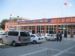 Sirkeci - Zubau am historischen Empfangsgebäude