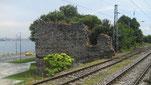 Teil der Stadtmauer am Marmarameer, unterhalb des Sultanpalasts
