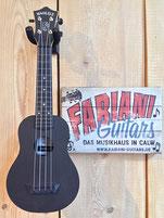 Alic DMJB Sopran- Ukulele in schwarz-matt, Hawaii Ukulele, Fabiani Guitars Musikhaus Calw, Leonberg, Renningen