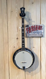 VGS 5 saitiges Banjo Premium, Bluegrass, Hill Billy, Rock and Country Music, Fabiani Guitars 75365 Calw