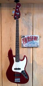 Fender Squier Jazz Bass Cont RD, Red-Winered, E-Bass, Musikhaus Calw Fabiani Guitars, Baden Baden, Karlsruhe, Pforzheim, Stuttgart, Herrenberg, Nagold, Altensteig