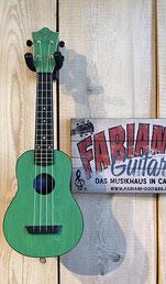 Ukulele Sopran in Grün, Hawaii Ukulele, Music Store Fabiani Guitars - 75365 Calw, Weil der Stadt, Tiefenbronn, Pforzheim