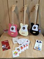 Loog Kindergitarren, ab 3 Jahre spielbar, Kindergitarren für Baby's ab 3, Fabiani Guitars Calw, Tiefenbronn, Renningen, Weil der Stadt, Herrenberg
