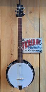 VGS Banjo - 6 saitig Select, 6 saitiges Banjo, 6 Saiter - Banjo für Gitarristen, Musik Fabiani Guitars Calw, Nagold, Tübingen, Stittgart, Pforzheim, Bretten, Baden Baden
