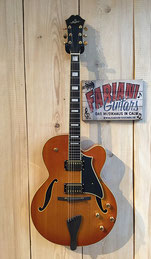 Stanford Breeze Jazz E- Gitarre, Jazz Guitar, Honey Burst, Honeyburst, Musik fabiani Guitars 75365 Calw