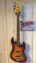 Vintage VJ96 MRJP Fretless E-Bass, Bundloser Bass, Vintage Look/Design, Fabiani Guitars in 75365 Musikhaus Calw
