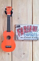 Mahalo U 30 bunt Sopran- Ukulele - Fabiani Guitars Calw, Herrenberg, Nagold, Stuttgart